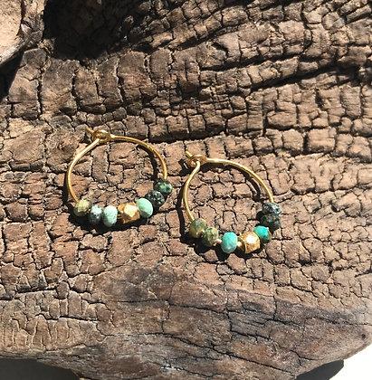 Mini Shanti Turquoise Africaine