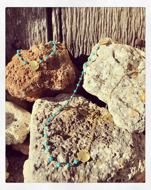 Summer vibes with the Turquoise Nadee
