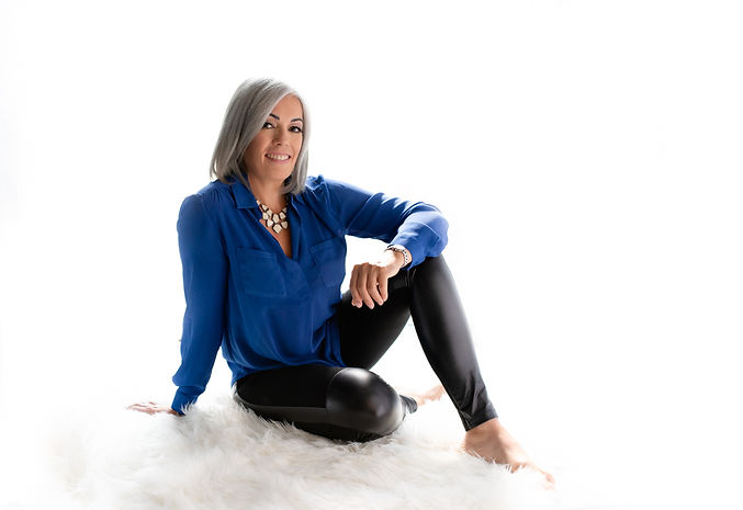 Nicole Scott with white background