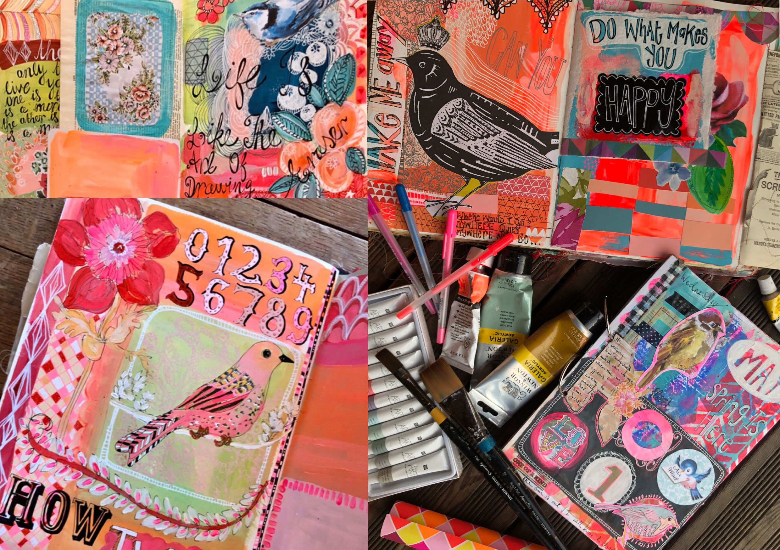 Learn to Art Journal Workshop 7th May
