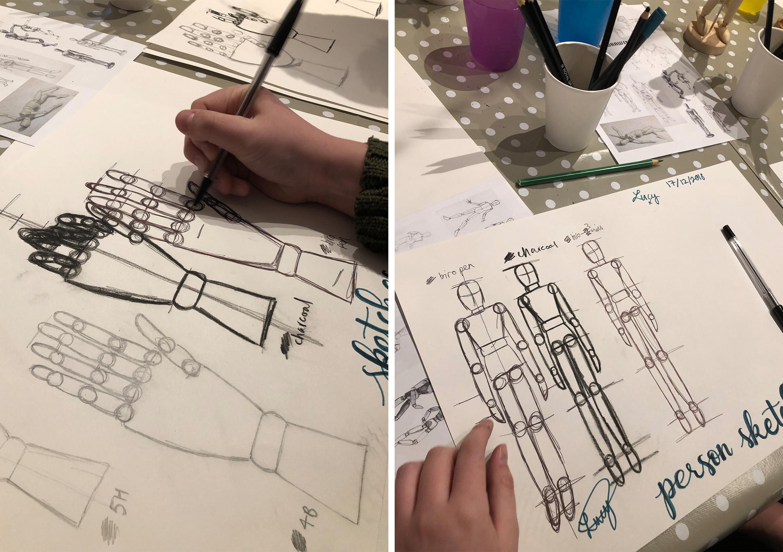 Kids Drawing Skills Age 7+  April 6th