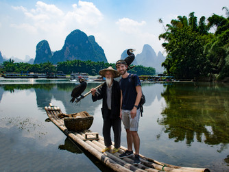 The karst mountians of Yangshuo
