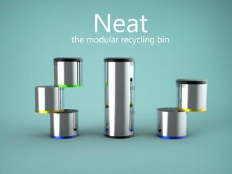 'Neat' The modular recycling bin