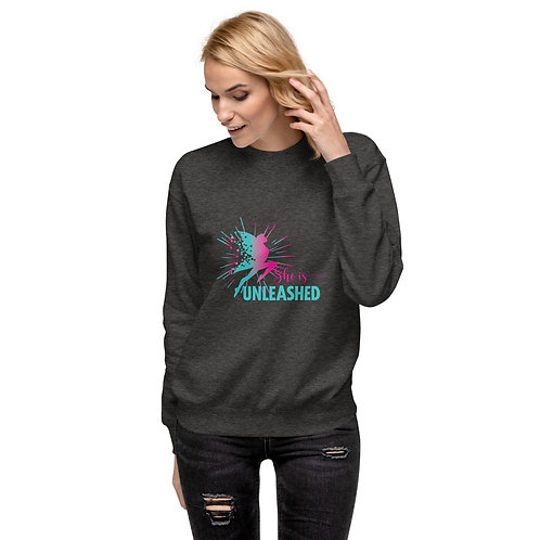She Is Unleashed Unisex Fleece Pullover