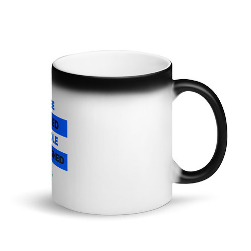 Free Healed Whole Matte Black Magic Mug