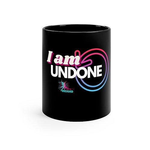 UNDONE 11oz Black Mug