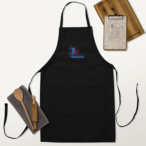 Unleashed Embroidered Apron