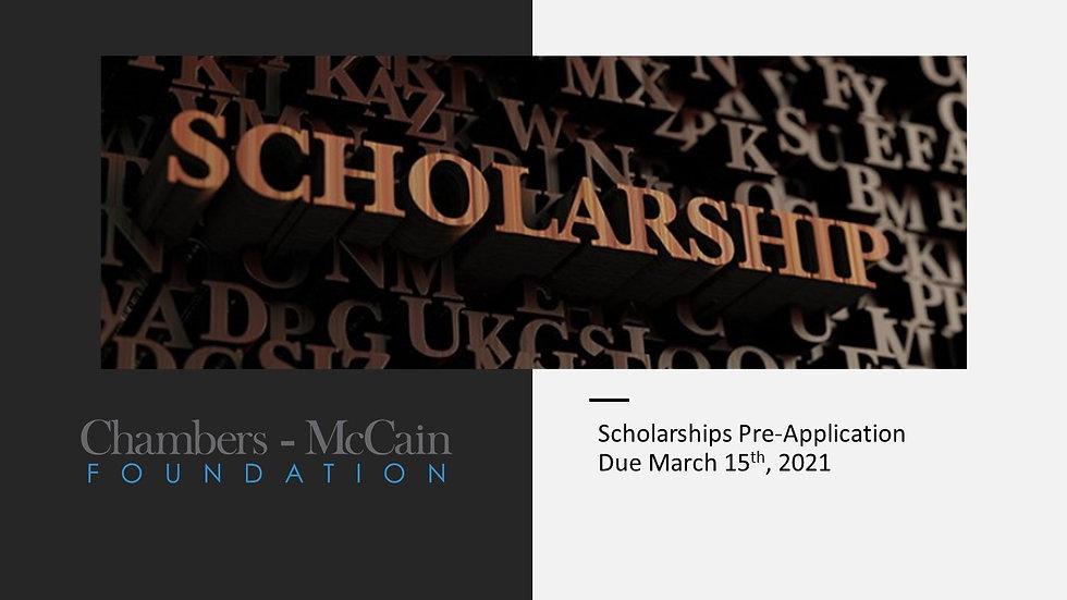 Chambers-McCain Foundation Scholarship.j