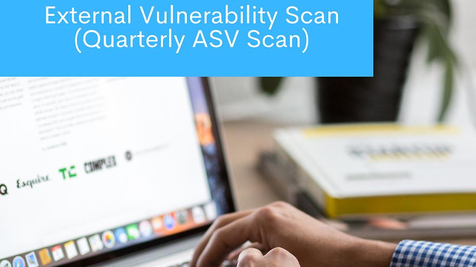 External Vulnerability Scan (Quarterly ASV Scan) - บริการรายครั้ง