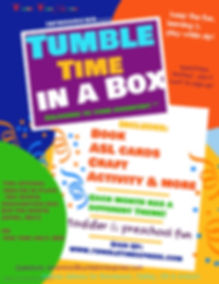 Tumble Time Subscription Box - Made with
