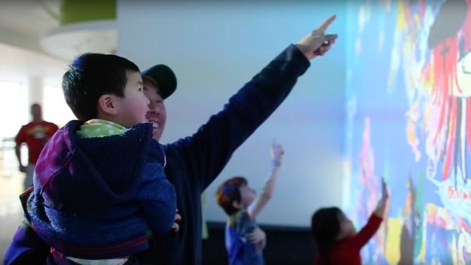 teamLab Future Park Pop-Up: Sketch Aquarium