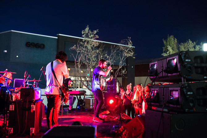 KROQ Locals Only Sunset Series at The Source