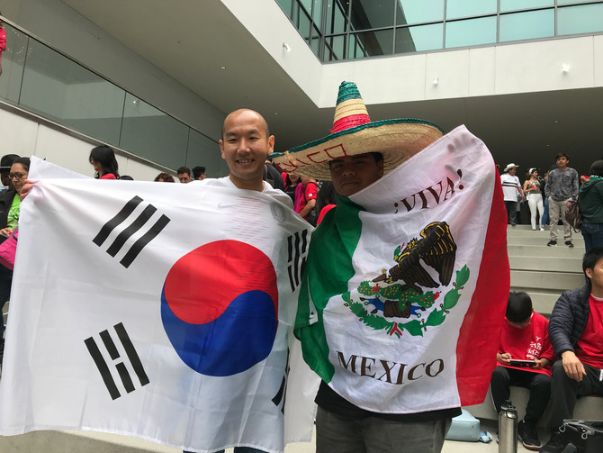 2018 FIFA World Cup: Mexico vs Korea Viewing