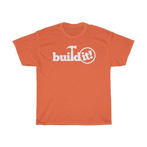 BUILD IT Unisex Heavy Cotton Tee