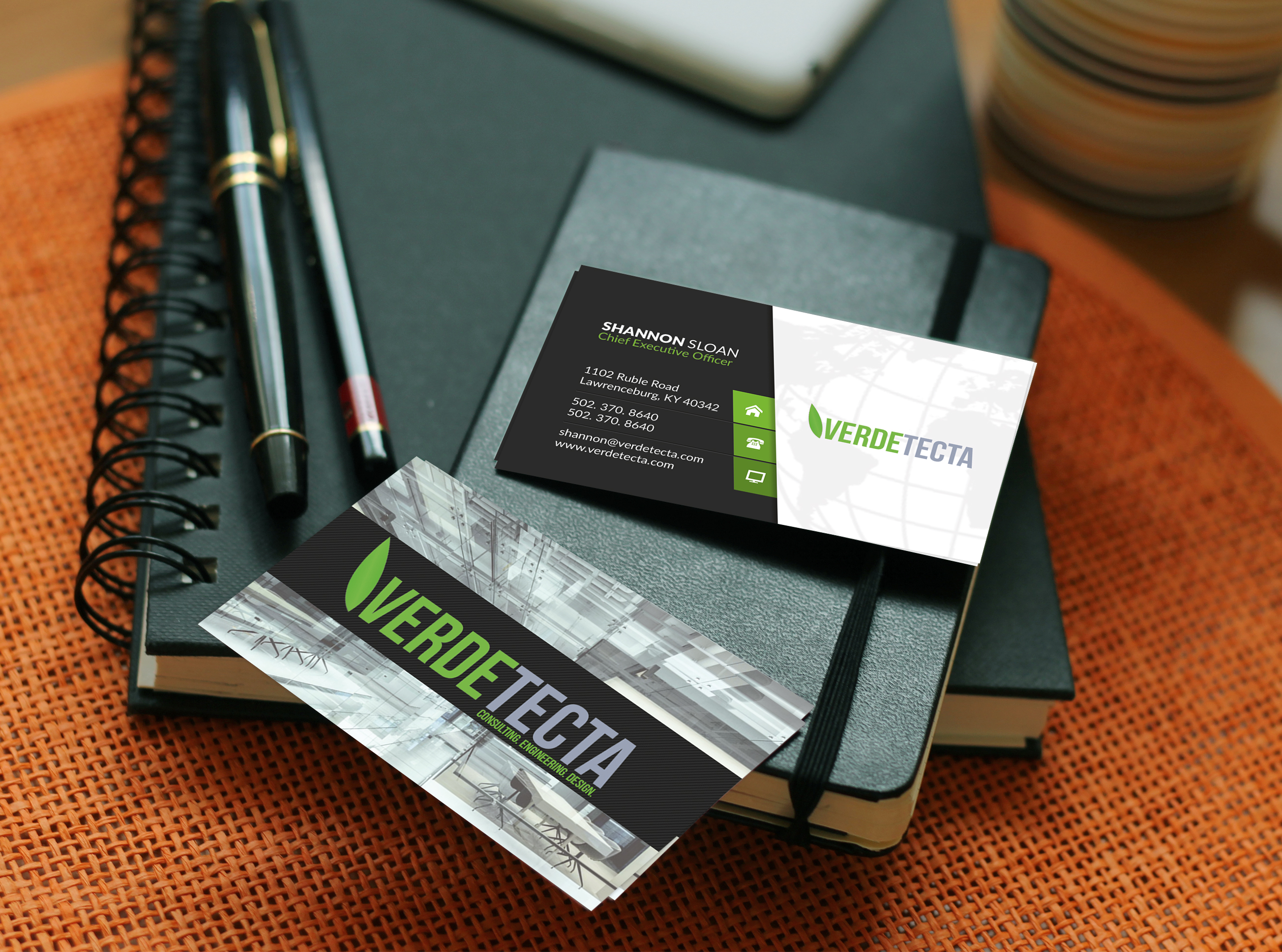#WeatherProofDesignz/Business Card