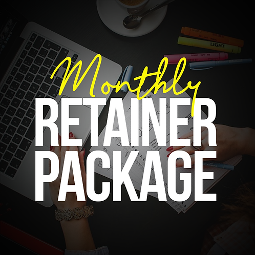 Monthly Retainer Package
