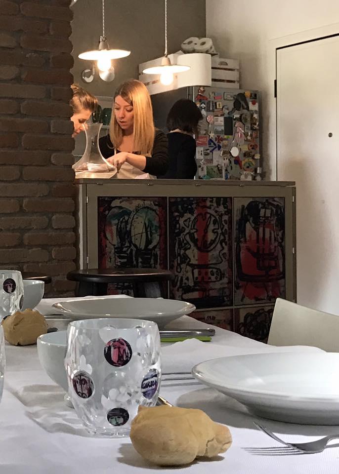 tavola d'autore con V. Gardoni