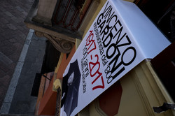 Allestimento in Piazza Steccata PR