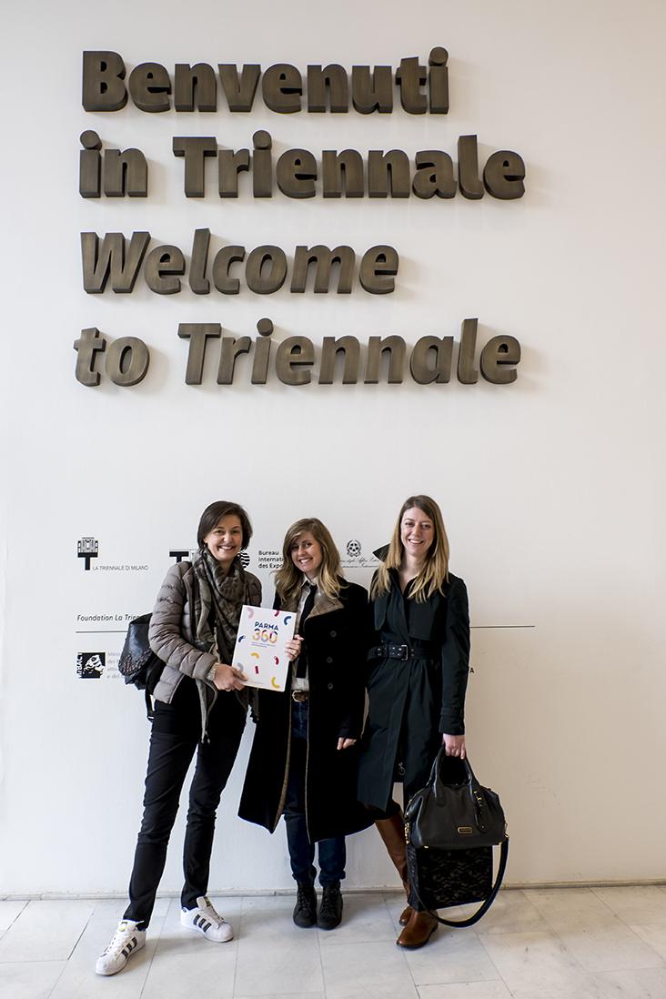 Conferenza stampa alla Triennale di Milano