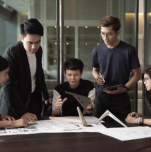 Furniture design team