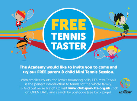FREE Parent & Child Taster