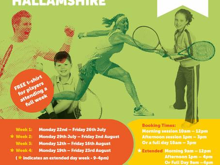 Summer Tennis Camps @ Hallamshire