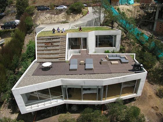 amazing flat roof design