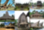 Traditional roofs of Indonesia