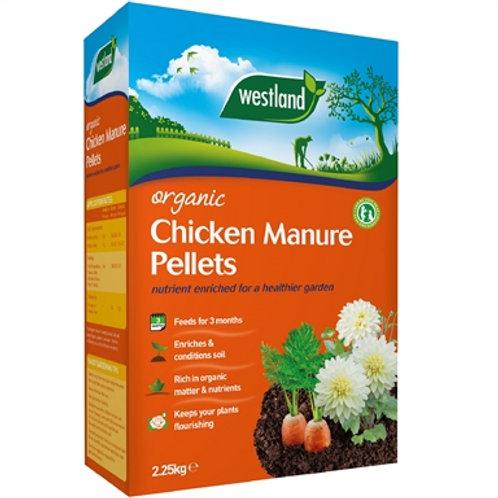 Westland chicken manure pellets 2.25kg