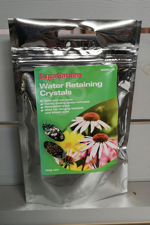 Water retaining crystals 120g