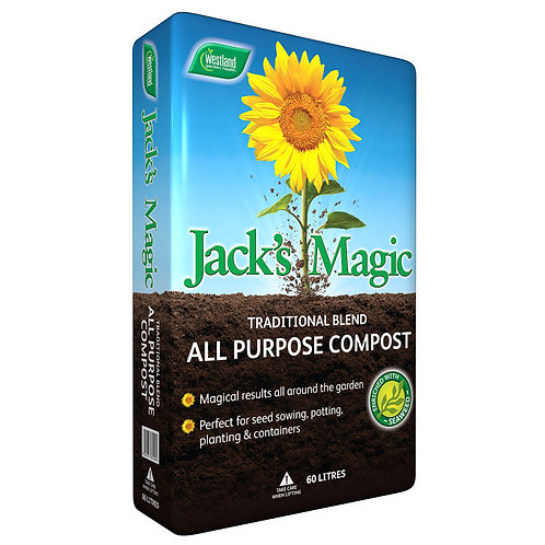 Westland Jack's Magic All Purpose Compost- 60L
