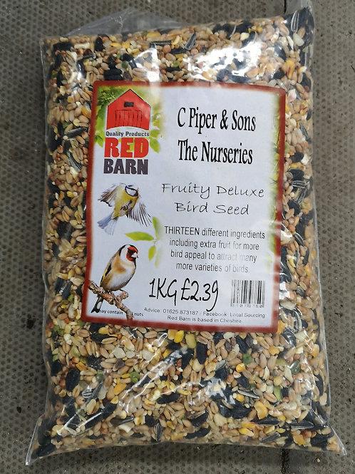 Fruity deluxe bird seed 1kg