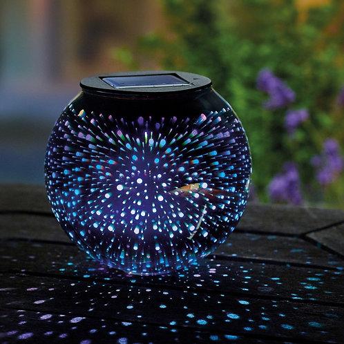 Solar sphere stargazer table light