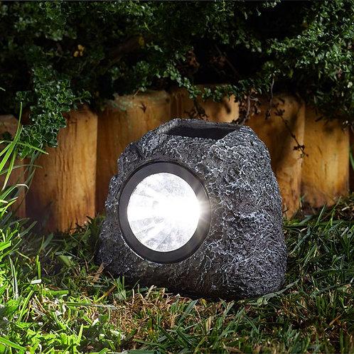 Granite rock spot 4 pack solar lights