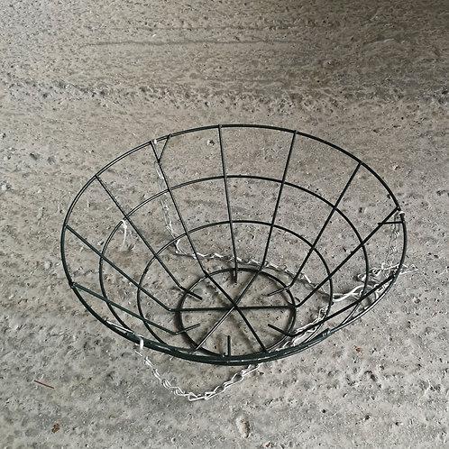 "14"" wire hanging basket"