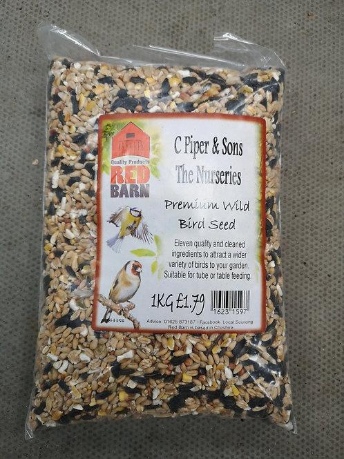 Premium wild bird seed 1kg