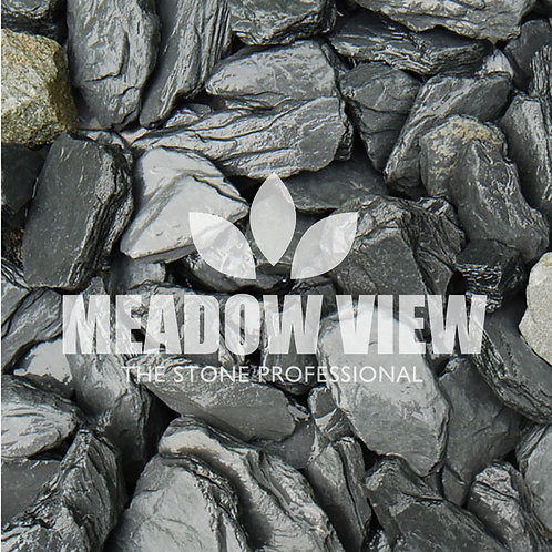 Meadowview Black Slate chippings