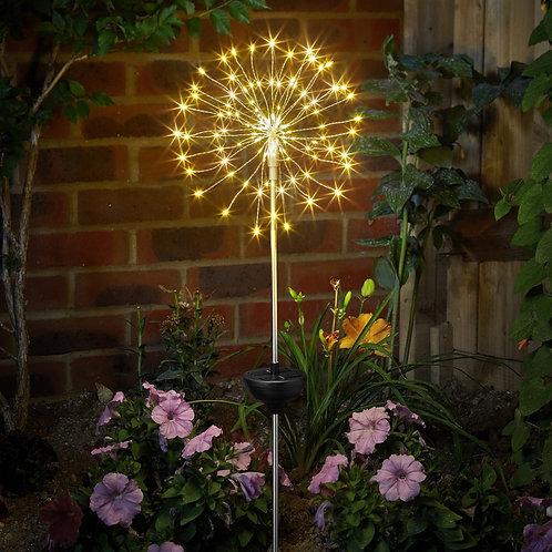 Starburst stake solar light