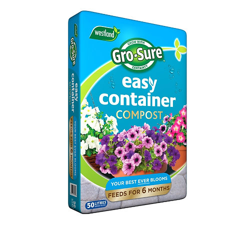 Westland Gro-Sure Easy Containers Compost- 50L