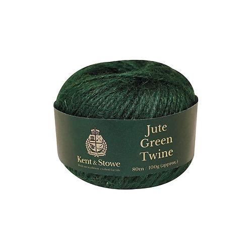 Kent & Stowe Jute Green Twine Bleached