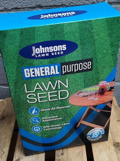 Johnsons Lawn seed general 1.5kg - 60m2