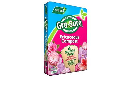 Westland Gro-Sure Ericaceous Compost- 60L