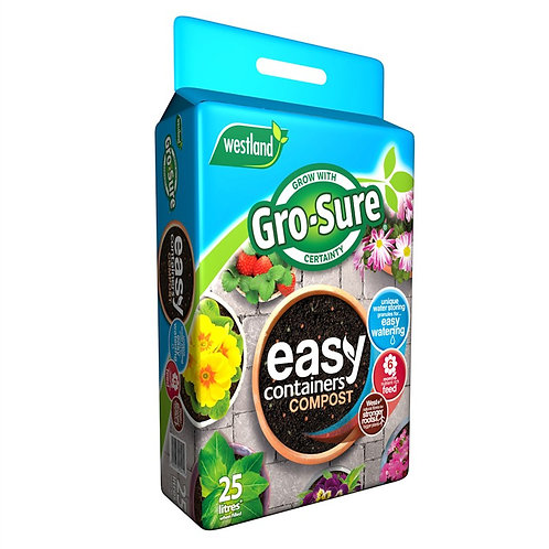 Westland Gro-Sure Easy Containers Compost- 25L