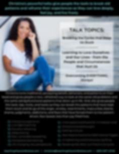 Christina Renee Joubert - Speaker One-Sh