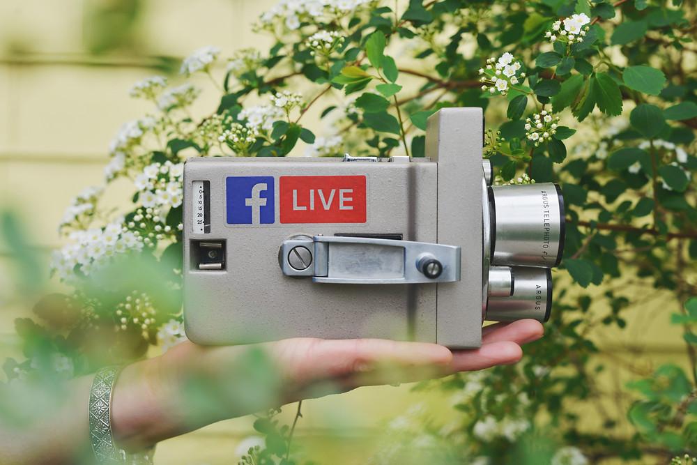 Facebook Live Alterações News Feed