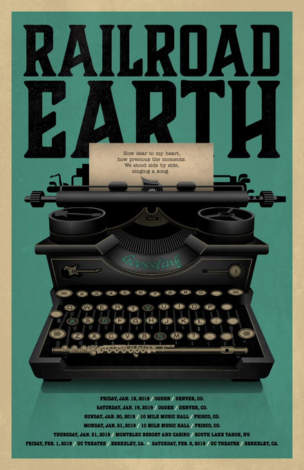 Railroad Earth_'Goodbye Letter'Poster_11