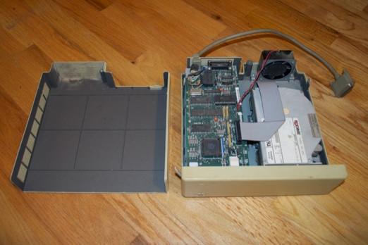 First MAC disc drive
