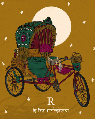 R is for Rickshaw