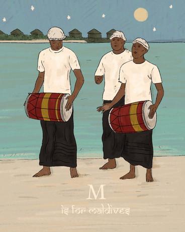 M is for Maldive