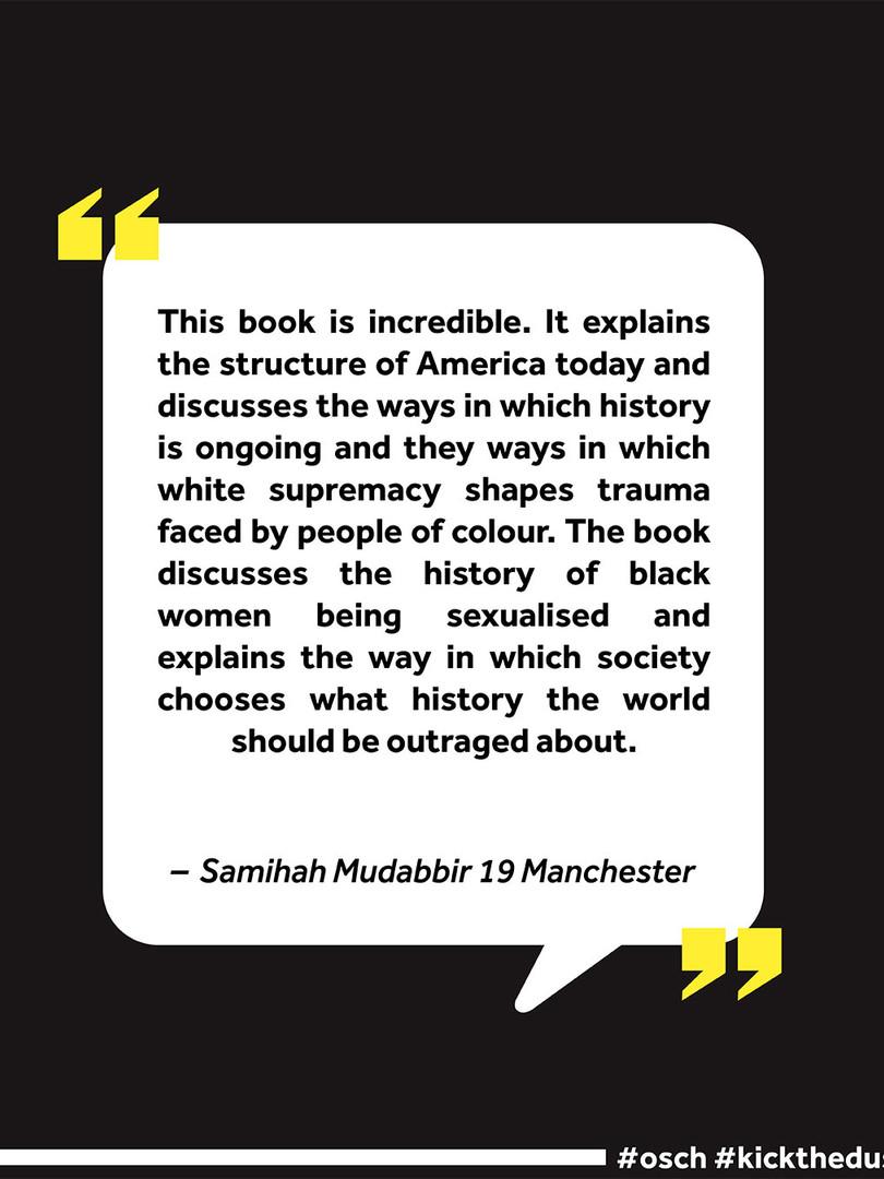 Saminah's Review